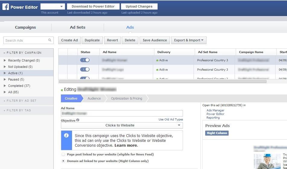 ferramentas de gestão e marketing facebook ads