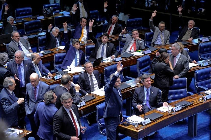 Reforma Trabalhista confira como votaram os senadores