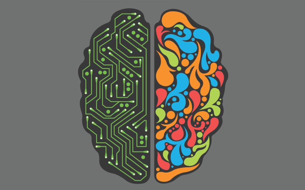 Os diferentes lados do cérebro são claramente definidos pela neurociência