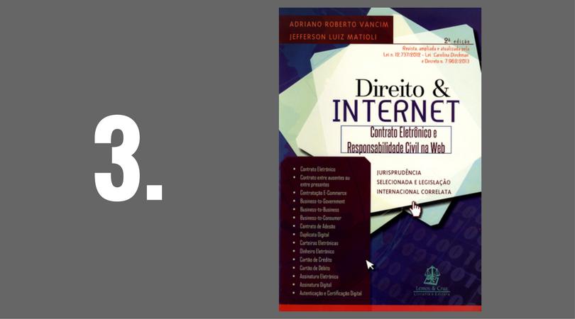 Direito & Internet - Contrato Eletrônico e Responsabilidade Civil na Web - 2ª Ed. 2015 - Adriano Roberto Vancim e Jefferson Luiz Matioli - Lemos & Cruz
