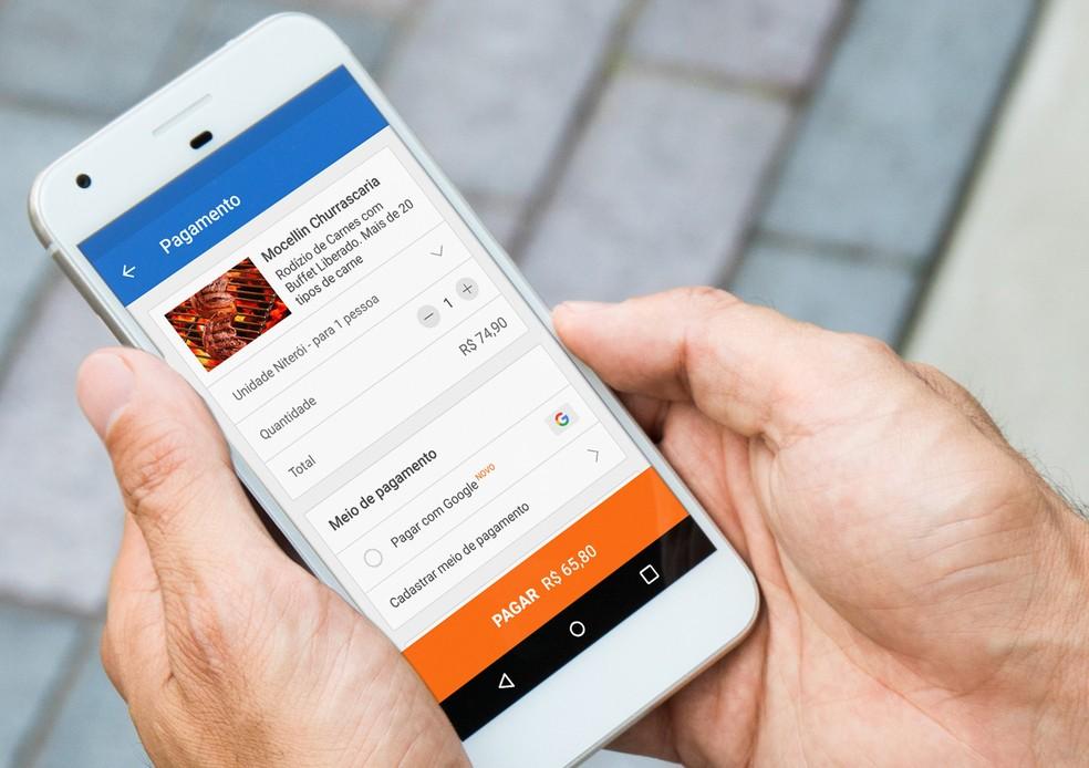 Pagar com Google serviço de pagamento para desbancar o PayPal e PagSeguro