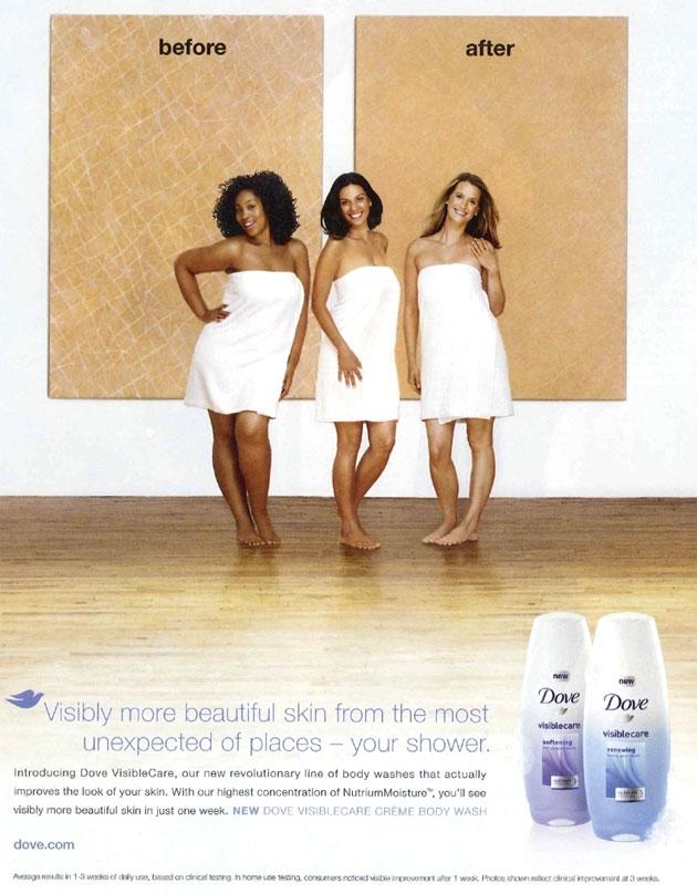 Propaganda da Dove acusada de racismo em 2011