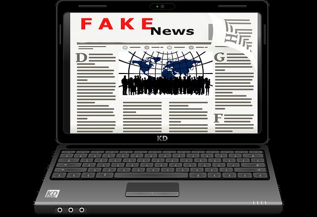 Notícias falsas na internet