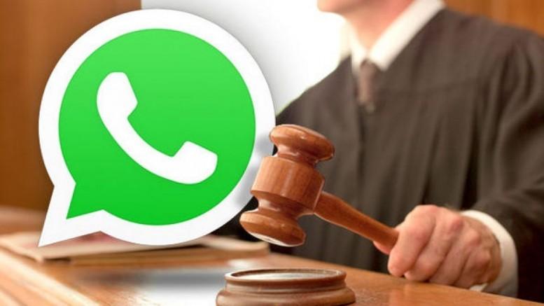 WhatsApp justiça